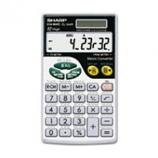- EL344RB Metric Conversion Wallet Calculator, 10-Digit LCD