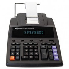 Built-in advanced business functions. - INNOVERA * 15990 Two-Color Printing Calculator, 12-Digit Fluorescent, Black/Red