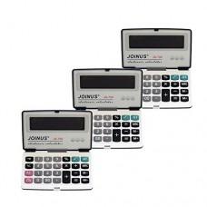 Pack of 3, JOINUS JS-700 Executive Foldable Style 12 Digit Hardcase Calculator