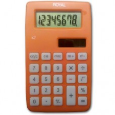 Royal X2 8-Digit Handheld Calculator w/ Solar & Battery (Part 16438T) from ABC Office