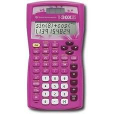 Texas Instrument TI-30X IIS Pink Calculator PINK TI30XIISOLAR