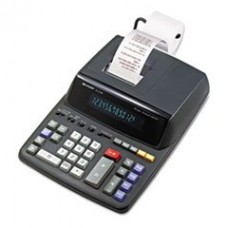 * EL2196BL Two-Color Printing Calculator, 12-Digit Fluorescent, Black/Red