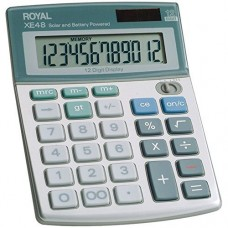 Royal 29306S Compact Desktop Solar Calculator