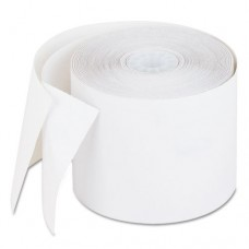 "Recycled Carbonless Duplicate Calculator Paper Rolls, 2-1/4""x90' PMF02769"