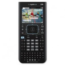 """Graphing Calculator, Color, CAS,3-3/8""""x7-1/4""""x5/8"""", Black, Sold as 2 Each"""
