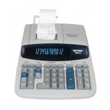 Victor 1560-6 Heavy-Duty Professional 12 Digit Printing Calculator