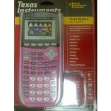 Texas Instruments TI-84 Plus C Silver Edition Graphing Calculator Raspberry pink/Magenta (color may vary)