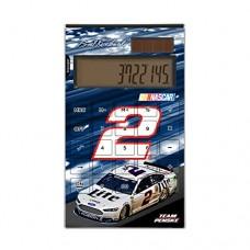 Brad Keselowski Desktop Calculator Number 2 Miller Lite NASCAR