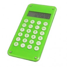 Ball Maze Game Design 10 Digits Green Plastic Electronic Calculator
