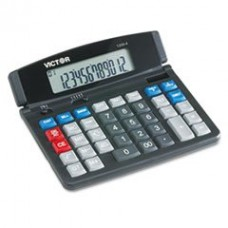 - 1200-4 Business Desktop Calculator, 12-Digit LCD