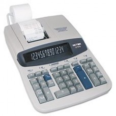 * 1570-6 Two-Color Ribbon Printing Calculator, 14-Digit Fluorescent, Black/Red