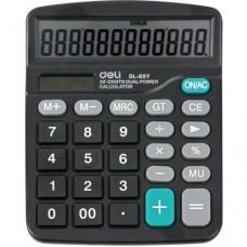 DL No.837 Desktop 12 Digits Dual Power Electronic Calculator