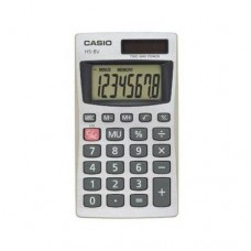 Casio HS8VA Pocket Calculator 8 Character(s) - Battery Solar Powered