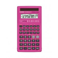 Casio fx-260 SOLAR Scientific Calculator, Pink