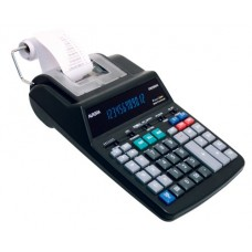 Aurora PR190M 12-digit flourescent LED, AC power printing calculator