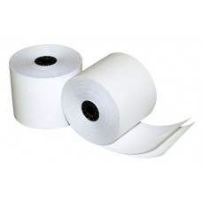 Quality Park Two-Ply Calculator and POS/Cash Register Rolls, 2.25 Inches x 90 Feet, White, Box of 50 (15608)
