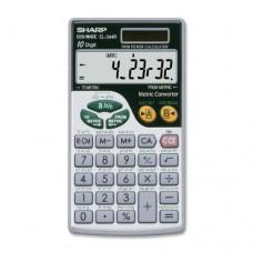 Sharp EL344RB 10-Digit Calculator with Punctuation