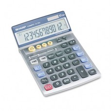 Sharp Vx-792c Compact Desktop Calculator 12-Digit Lcd Auto Power Off After Five Minutes