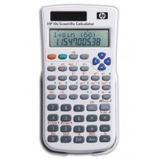 HP 10s Scientific Calculator - 240 Functions - 10 Character(s) - Battery, Solar Powered