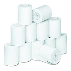 PM Company Perfection Thermal Medical/Laboratory Printer Rolls, 2.25 Inches X 80 Feet, White, 12 per Pack (06370)