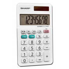 Sharp Calculators EL-244WB Business Calculator, White 2.125