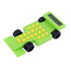 Dimart Plastic Race Car 8 Digits Display Electronic Calculator, Green