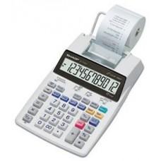 Sharp EL-1750V Portable Printing Color Calculator with Clock and Calendar - EL1750V