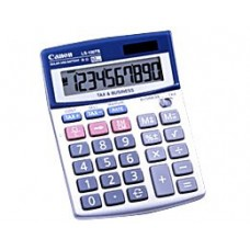 Canon Ls-100ts 10-Digit Angled Display Business&Sales Calculator Quick Easy Tax Calculation