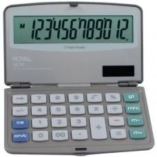 ROYAL 29305Y Folding Solar 12-Digit Calculator (29305Y)