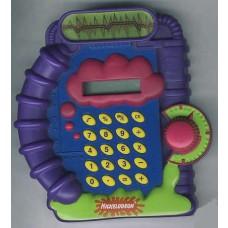 Nickelodeon Splat Calculator - 1999 Burger King Back to School Series