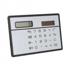 Bheema New Slim 8 Digit Mini Solar Power Pocket Calculator Counter ABS