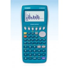 Casio Fx7400 Fx-7400gii Power Graphic Scientific Calculator High Resolution Display Screen Limited Edition 20kb RAM Turquoise Color Limited Edition.