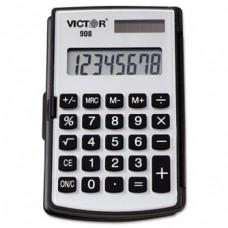 Victor 908 Pocket Calculator , Black