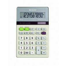Sharp Electronics EL-334TB Twin Power 10-Digit Calculator with Kick Stand