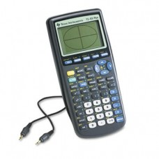 TI-83Plus Programmable Graphing Calculator, 10-Digit LCD, Sold as 2 Each
