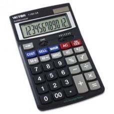 - 1180-3A Antimicrobial Desktop Calculator, 12-Digit LCD