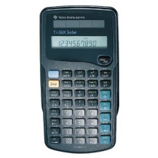 Texas Instruments Scientific Calculator, Solar Powered