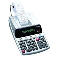 Canon Office Products 2202C001 Canon MP25DV-3 Desktop Printing Calculator with Currency Conversion, Clock & Calendar