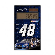 Jimmie Johnson Desktop Calculator officially licensed by NASCAR Full Size Large Button Solar by keyscaper®