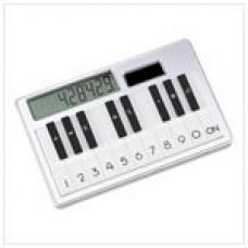 Solar Piano Key Look Calculator Desk Accessory Gift