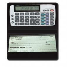 Teledex DB-413 Checkbook Calculator-Tracks Latest Savings, Checking, Credit Financial Entries