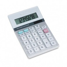 8-Digit Mini-Desktop Calculator, Solar and Battery Powered SHREL330MB