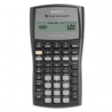 Texas Instruments BAIIPlus Financial Calculator, 10-Digit LCD