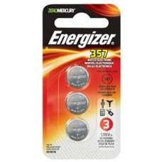 Eveready Battery 357BPZ-3N 1.5 Volt Watch & Calculator Battery, 3 Pack by Eveready