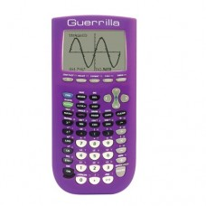 Guerrilla Silicone Case for Texas Instruments TI-84 Plus Graphing Calculator, Purple