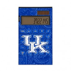 Kentucky Wildcats Desktop Calculator Paisley NCAA