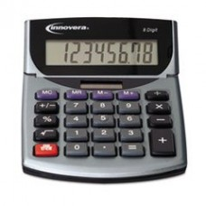 - 15925 Portable Minidesk Calculator, 8-Digit LCD
