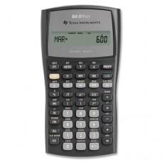 "Financial Calculator, w/ Slide Case, 3""x6""x3/5"", BK/GY, Sold as 1 Each - Texas Instruments, Inc Financial Calculator, w/ Slide Case, 3""x6""x3/5"", BK/"
