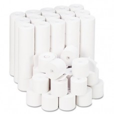 "Adding Machine/Calculator Roll, 16 lb, 1/2"" Core, 2-1/4"" x 165 ft, White, 100/CT, Sold as 2 Carton, 100 Roll per Carton"