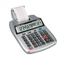 * P23-DHV 12-Digit Two-Color Printing Calculator, 12-Digit LCD, Purple/Red